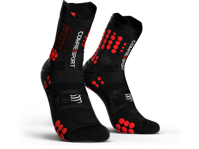 Compressport Pro Racing V3.0 Trail Sukat, black/red
